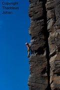 Rock Climbing Photo: The Oober classic Ride 'em Cowboy 5.9