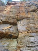 Rock Climbing Photo: Stout fist, hand & fingers to the face-climbing od...