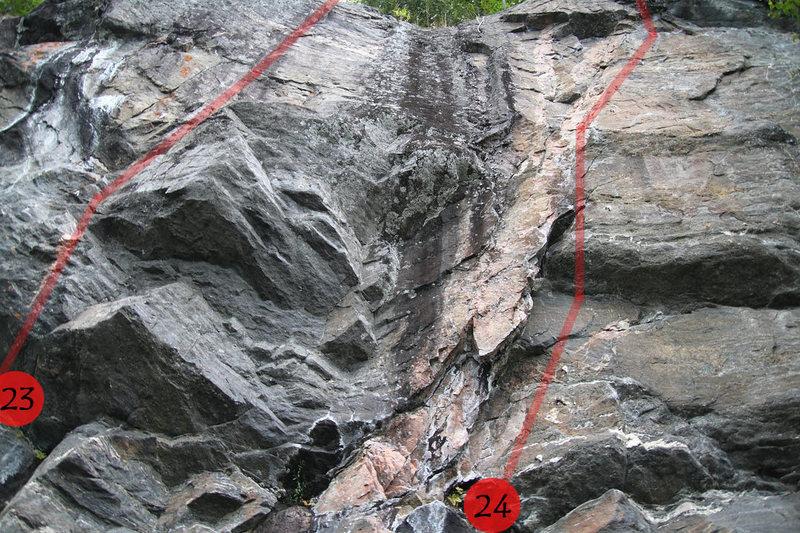 Rock Climbing Photo:  #24
