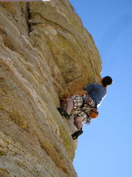 Rock Climbing Photo: Hitchcock