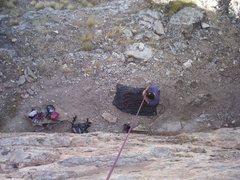 Rock Climbing Photo: Tunnel Springs belay