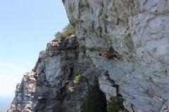 Rock Climbing Photo: Robert Fogle on Zeus