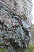 Rock Climbing Photo: Robert Fogle on Boogie