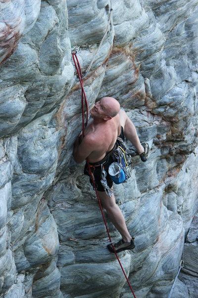 Rock Climbing Photo: Man Tim makes it look easy