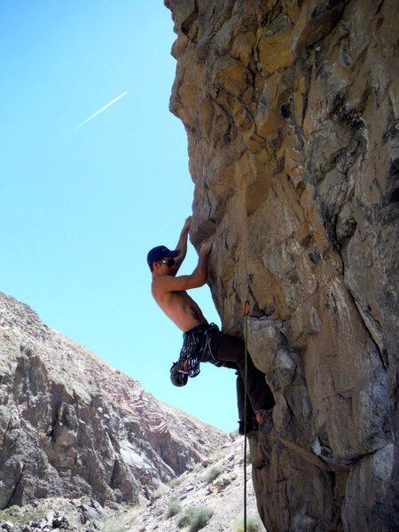 Rock Climbing Photo: Fun climb. Too bad it's so short.