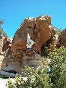 Rock Climbing Photo: Roof crack.