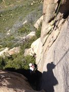 Rock Climbing Photo: Start of babies. If you extend your master point l...