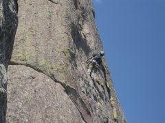Rock Climbing Photo: Last Pitch on the 3rd flatiron