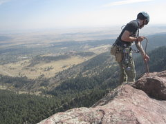 Rock Climbing Photo: View from the top of the 3rd