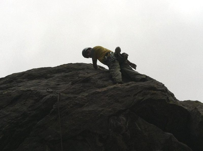 Rock Climbing Photo: 10a in Clear Creek