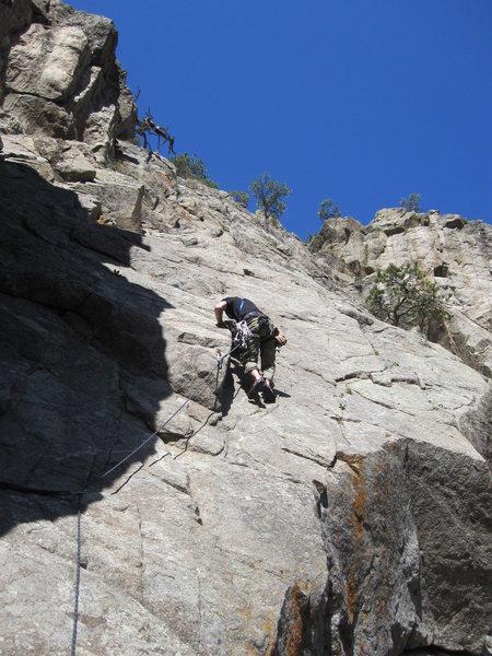 Rock Climbing Photo: 9+ Boulder Canyon