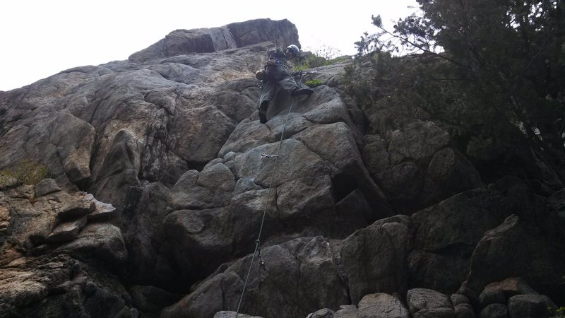 Rock Climbing Photo: Animal World, Boulder Canyon