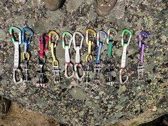 Rock Climbing Photo: The rack for Lot Lizards.