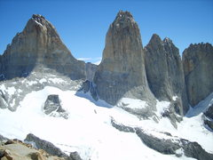 Rock Climbing Photo: Patagonia Torres del Paine.