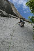 Rock Climbing Photo: das craiger cruisin the green adjective 5.9 ****