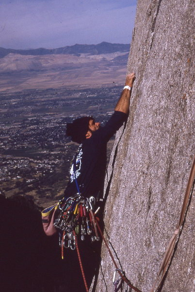 Rock Climbing Photo: 1996 or there abouts.  We met a SLC local in Redro...
