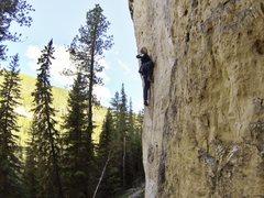 Rock Climbing Photo: Harrison climbing Blowin' Kisses At Disinterested ...