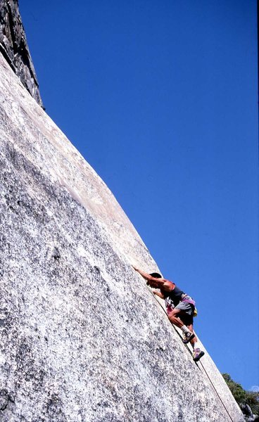 """Rock Climbing Photo: Early repeat of """"You Had A Hand In This Too&q..."""