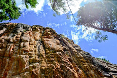 Rock Climbing Photo: Near the top of New Beginnings, this is where you ...