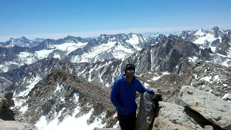 Rock Climbing Photo: Summiting Mount Lamarck (May 25, 2013)