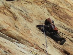 Rock Climbing Photo: El Cajon Mtn. Leonids. 5.9.
