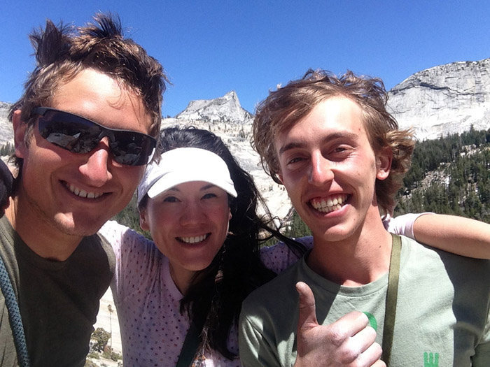 Party of 3 on Aqua Knobby; Pywiack Dome....super fun day with these guys.