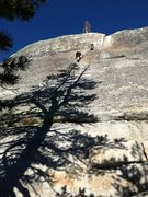 Rock Climbing Photo: Easy free solo up puppy dome...we came and did lap...