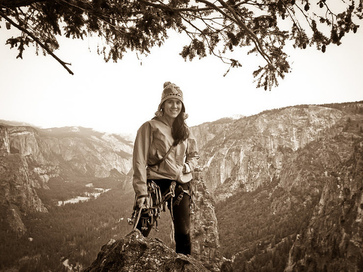 Rock Climbing Photo: Top of Braille Book; fall 2012