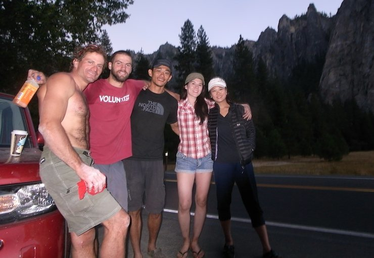 Rock Climbing Photo: Love these folks; summer 12