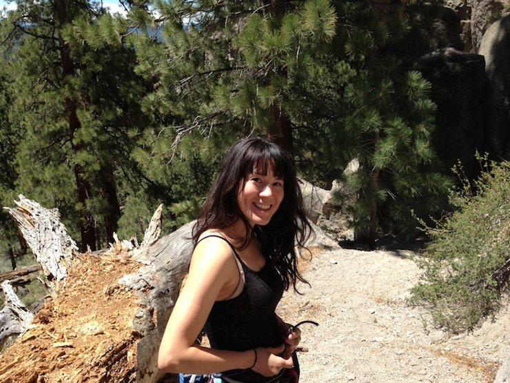 Smiley at The Alcove@SEMICOLON@ Clark Canyon