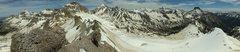 Rock Climbing Photo: Loving the spring skiing in Yankee Boy, CO.