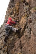 Rock Climbing Photo: Wondessen is 13 and lives in the village of Kile a...