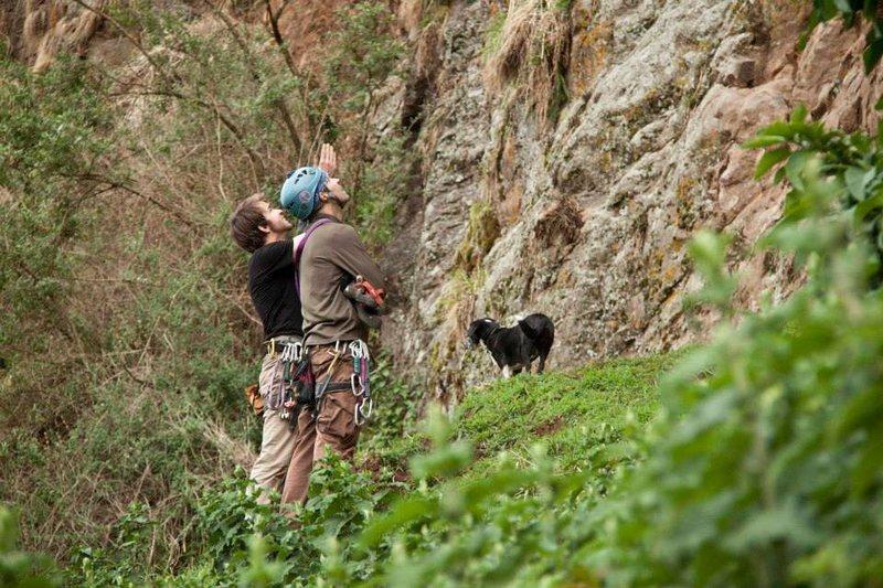 Nico & Matt considering the cliff size of Enkefet