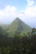 Rock Climbing Photo: Photo from summit looking over at Gros Piton
