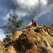 Rock Climbing Photo: Bouldering!