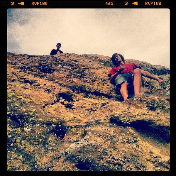 Rock Climbing Photo: Climbed that bad boy!