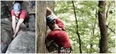 Rock Climbing Photo: John leading New Yosemite