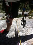 Rock Climbing Photo: tuolumne meadows