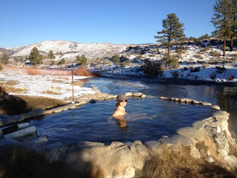 Rock Climbing Photo: Carson River Hot Tubs