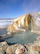 Rock Climbing Photo: Travertine Hot Tubs