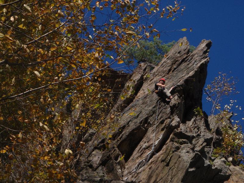 Rock Climbing Photo: Me climbing Jolt