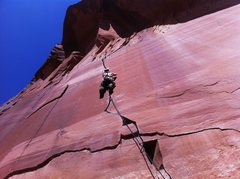 Rock Climbing Photo: Escalante Canyon