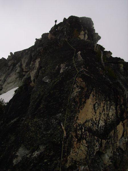 Rock Climbing Photo: P1 of the SE ridge route