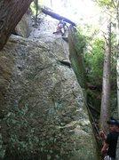 Rock Climbing Photo: dirty but fun