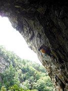 Rock Climbing Photo: The predator
