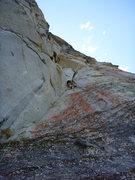 Rock Climbing Photo: 2nd pitch corner