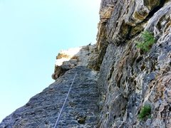 Rock Climbing Photo: Linking up Stoic Calculus and Emotional Geometry