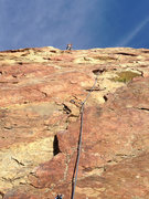 Rock Climbing Photo: Tough Onsight, but pretty colors :)