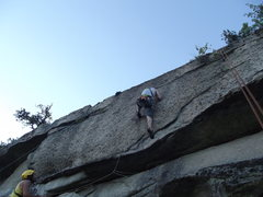 Rock Climbing Photo: Jay on the business