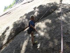 Rock Climbing Photo: Zackary ready to go